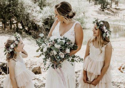 Bridal Party Floral Bouquets