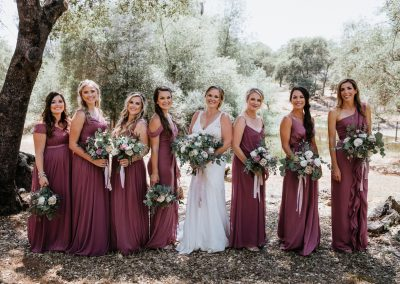 Wedding Bouquets for Bride and Bridesmaids